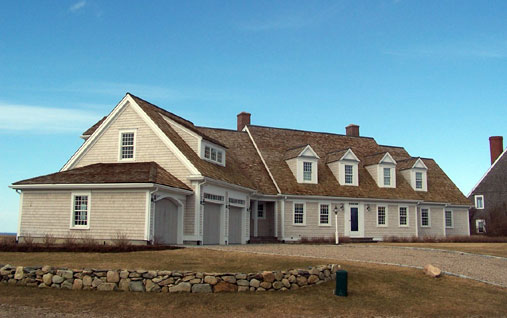 Dennis House overlooking Cape Cod Bay